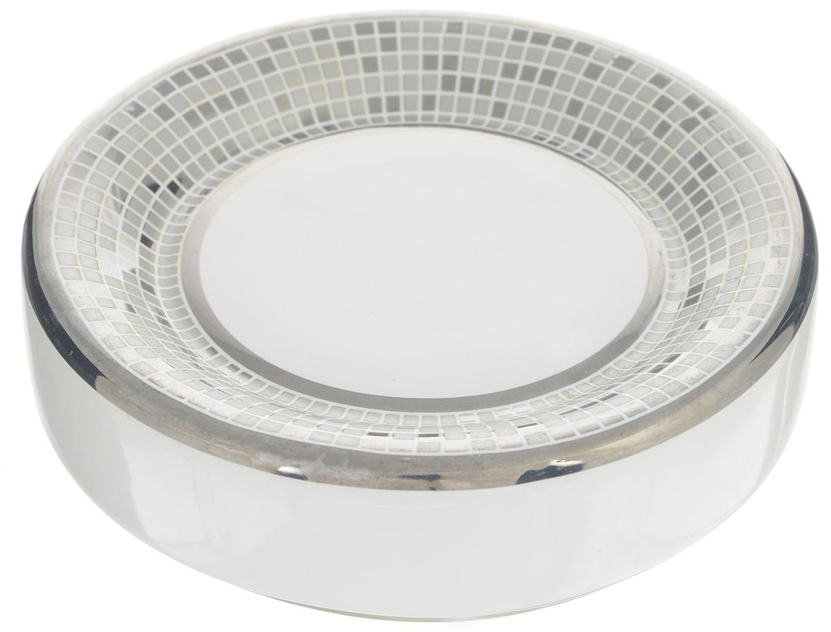 Мыльница Vanstore Mosaic361-04Мыльница Vanstore Mosaic изготовлена из качественной керамики, покрытой глазурью, и оформлена в стиле мозаики. Мыльница утонченного изящного дизайна красиво дополнит интерьер ванной комнаты и создаст особую атмосферу уюта и комфорта.