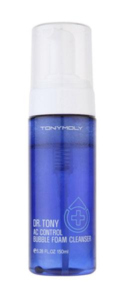 TonyMoly Очищающая пенка для лица TONY LAB AC CONTROL BUBBLE FOAM, 150 млSS02016300Мягкая пенка для умывания, предотвращающая появление акне. Пенка превосходно снимает воспаления, успокаивает кожу, сокращает поры. Идеально подходит для обладательниц комбинированной, проблемной и склонной к жирности кожи. Содержит экстракт японской сосны, оказывающий интенсивное противовоспалительное и антибактериальное действие. Экстракты шалфея и портулака снимают раздражение и восстанавливают кожу, а алоэ оказывает увлажняющее действие.