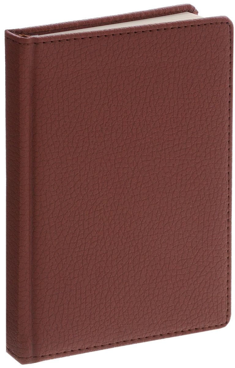 Listoff Записная книжка Zodiac 96 листов в клетку цвет коричневыйКЗК6961648Записная книжка Listoff Zodiac - незаменимый атрибут современного человека, необходимый для рабочих и повседневных записей в офисе и дома. Записная книжка содержит 96 листов формата А6 в клетку. Обложка выполнена из искусственной кожи и имеет прострочку по периметру. Внутренний блок изготовлен из высококачественной состаренной бумаги, что гарантирует чистоту записей и отсутствие клякс. Атласное ляссе поможет быстро найти нужную страницу. Записная книжка Listoff Zodiac станет достойным аксессуаром среди ваших канцелярских принадлежностей. Она подойдет как для деловых людей, так и для любителей записывать свои мысли, делать наброски.