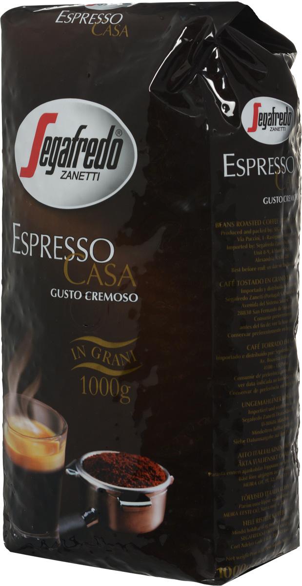 Segafredo Espresso Casa кофе в зернах, 1 кг401.001.068Кофе Segafredo Espresso Casa создан профессионалами кофе, которые подготовили сбалансированную смесь высшего сорта Арабики и Робусты, придающую напитку насыщенный сливочный вкус и интенсивный аромат. В точности как эспрессо из настоящей итальянской кофейни.