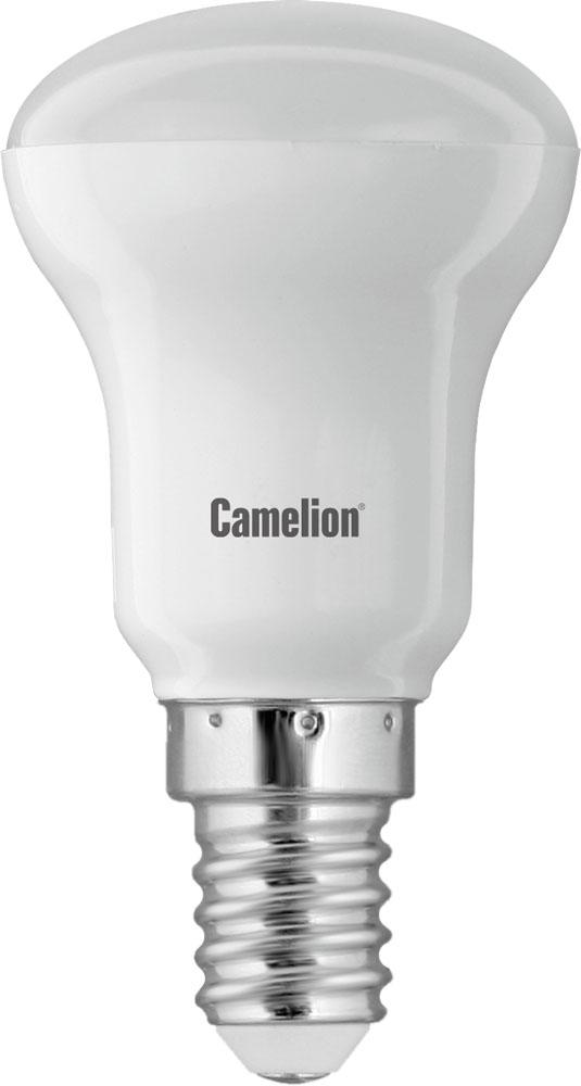 Светодиодная лампа Camelion LED3.5-R39/830/E1410934Светодиодная лампа, температура цвета 3000К (Теплый цвет), напряжение 220 Вольт