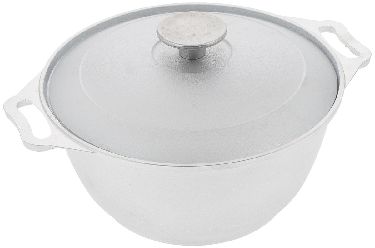 Кастрюля Биол с крышкой, цвет: серебристый, 2,5 лК0251Кастрюля Биол, выполненная из высококачественного литого алюминия, оснащена крышкой. Изделие имеет утолщенное дно. Посуда равномерно распределяет тепло и обладает высокой устойчивостью к деформации, легкая и практичная в эксплуатации, обладает долгим сроком службы. Подходит для использования на электрических, газовых и стеклокерамических плитах. Не подходит для индукционных плит. Диаметр кастрюли: 22 см. Высота стенки кастрюли: 10,6 см. Ширина кастрюли (с учетом ручек): 28 см.