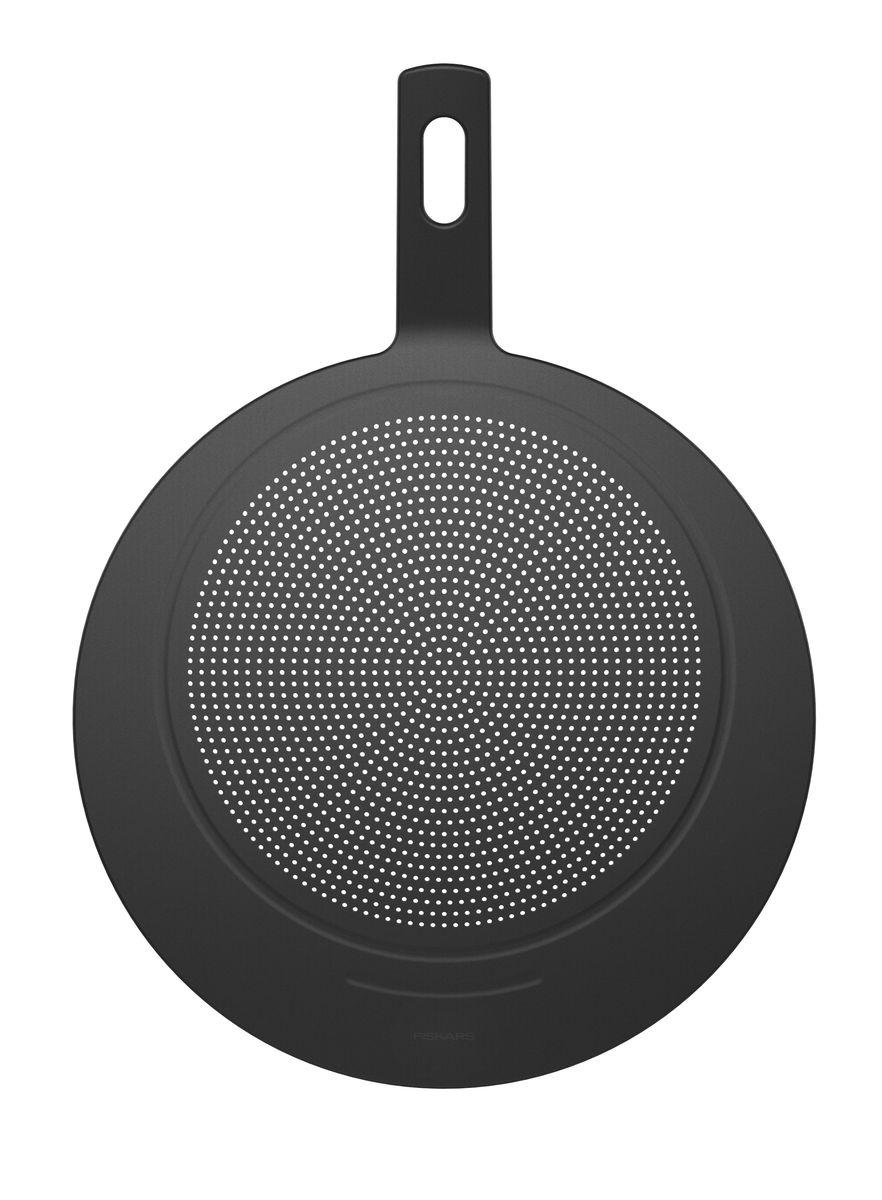 FISKARS Крышка с ситом из жаропрочного пластика 40,2 см1014348Жаропрочный силикон