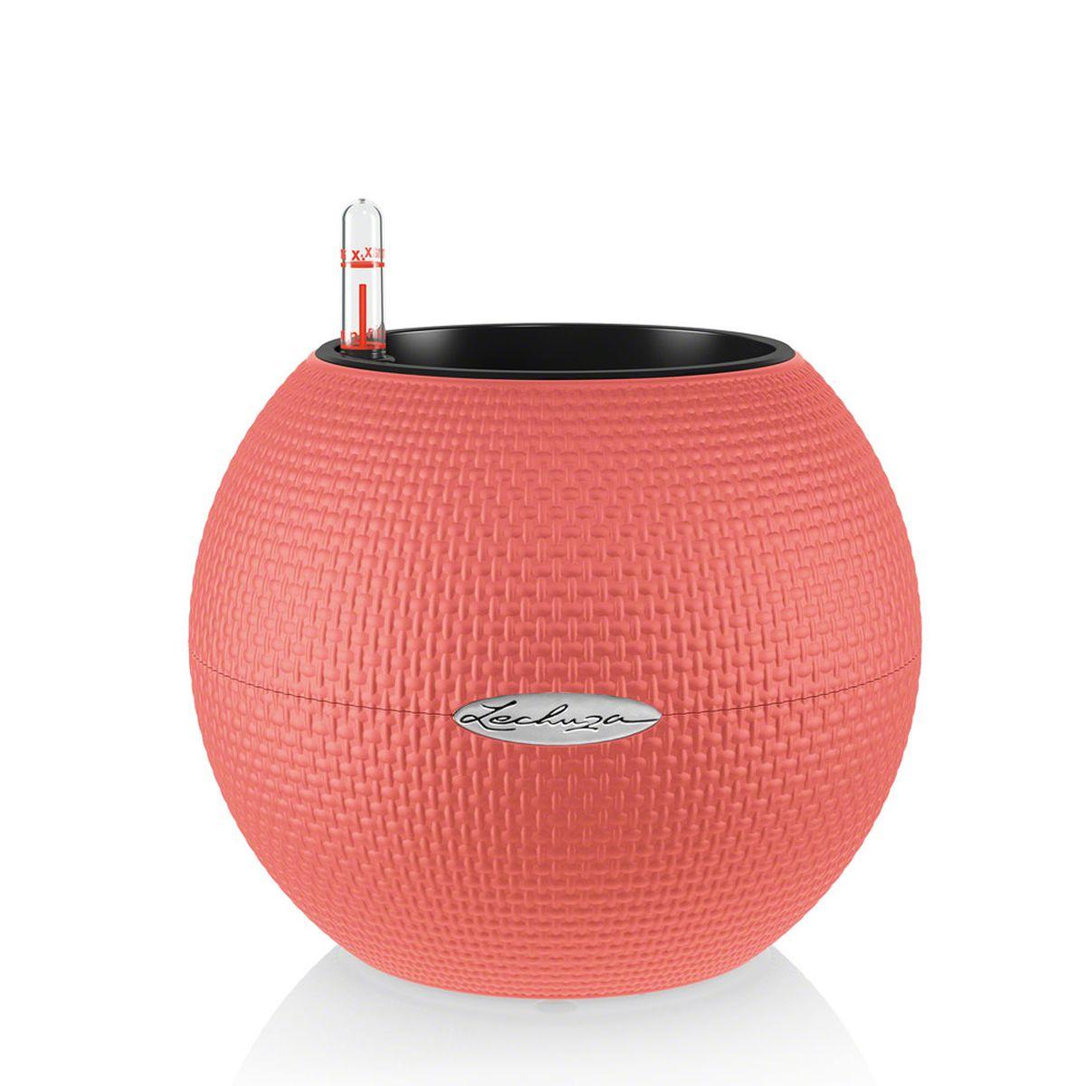 Кашпо Lechuza Color Puro, с системой автополива, цвет: коралловый, диаметр 20 см13368Круглое кашпо Lechuza Color Puro, выполненное из высококачественного пластика, имеет уникальную систему автополива, благодаря которой корневая система растения непрерывно снабжается влагой из резервуара. Уровень воды в резервуаре контролируется с помощью специального индикатора. В зависимости от размера кашпо и растения воды хватает на 2-12 недель. Это способствует хорошему росту цветов и предотвращает переувлажнение. В набор входит: кашпо, внутренний горшок, индикатор уровня воды, резервуар для воды. Внутренний горшок, оснащенный выдвижными ручками, обеспечивает: - легкую переноску даже высоких растений; - легкую смену растений; - можно также просто убрать растения на зиму; - винт в днище позволяет стечь излишней дождевой воде наружу. Кашпо Lechuza Color Puro прекрасно впишется в интерьер больших холлов, террас ресторанов и уютных гостиных. Изделие поможет расставить нужные акценты и придаст помещению вид, соответствующий...