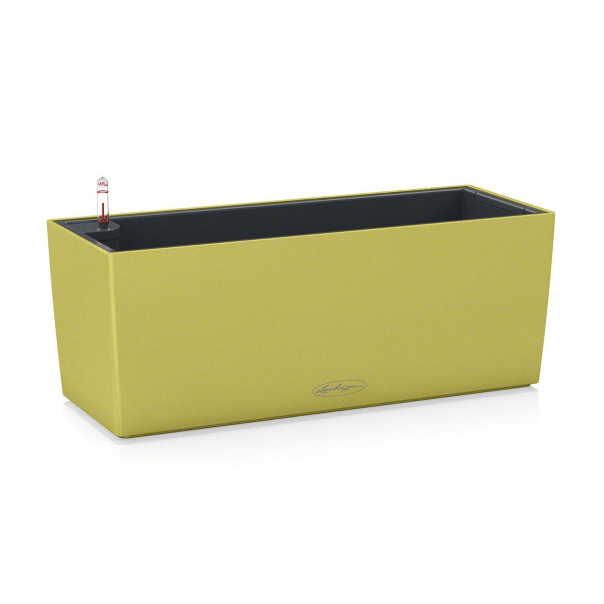 Кашпо Lechuza Balconera Color, с системой автополива, цвет: фисташковый, 50 х 19 х 19 см15672Кашпо Lechuza Balconera Color, выполненное из высококачественного пластика, имеет уникальную систему автополива, благодаря которой корневая система растения непрерывно снабжается влагой из резервуара. Уровень воды в резервуаре контролируется с помощью специального индикатора. В зависимости от размера кашпо и растения воды хватает на 2-12 недель. Это способствует хорошему росту цветов и предотвращает переувлажнение. В набор входит: кашпо, внутренний горшок, индикатор уровня воды, резервуар для воды, балконный держатель. Кашпо Lechuza Balconera Color - превосходное решение для балкона. Оно прекрасно украсит любой интерьер, поможет расставить нужные акценты, а также придаст помещению вид, соответствующий вашим представлениям.