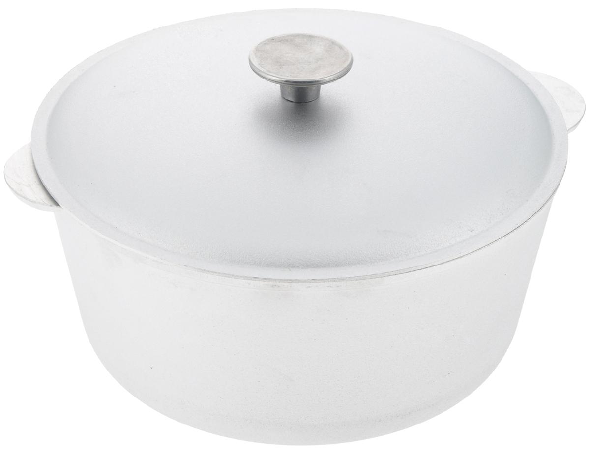 Кастрюля Биол с крышкой, 5 л. К0500К0500Кастрюля Биол, выполненная из высококачественного литого алюминия, оснащена крышкой. Изделие имеет утолщенное дно. Посуда равномерно распределяет тепло и обладает высокой устойчивостью к деформации, легкая и практичная в эксплуатации, обладает долгим сроком службы. Подходит для использования на электрических, газовых и стеклокерамических плитах. Не подходит для индукционных плит. Диаметр кастрюли (по верхнему краю): 26 см. Высота стенки кастрюли: 12 см. Ширина кастрюли (с учетом ручек): 30,2 см.