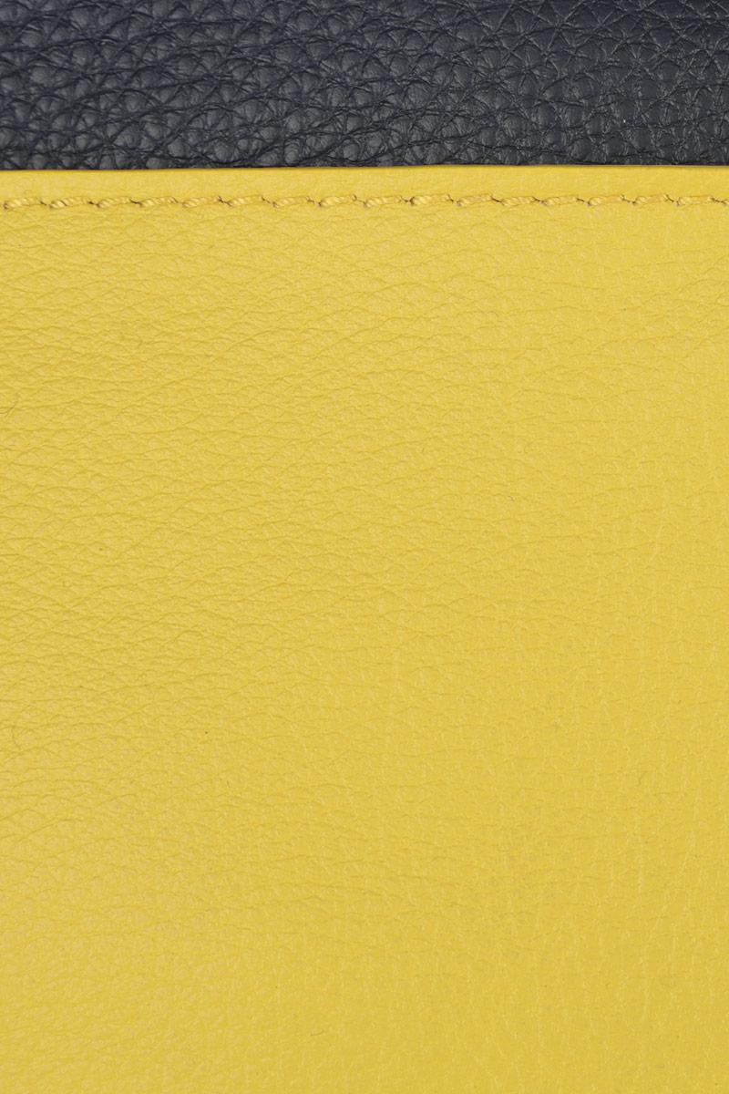 Сумка женская Pimo Betti, цвет: темно-синий, желтый, коричневый. 14424B1-W2