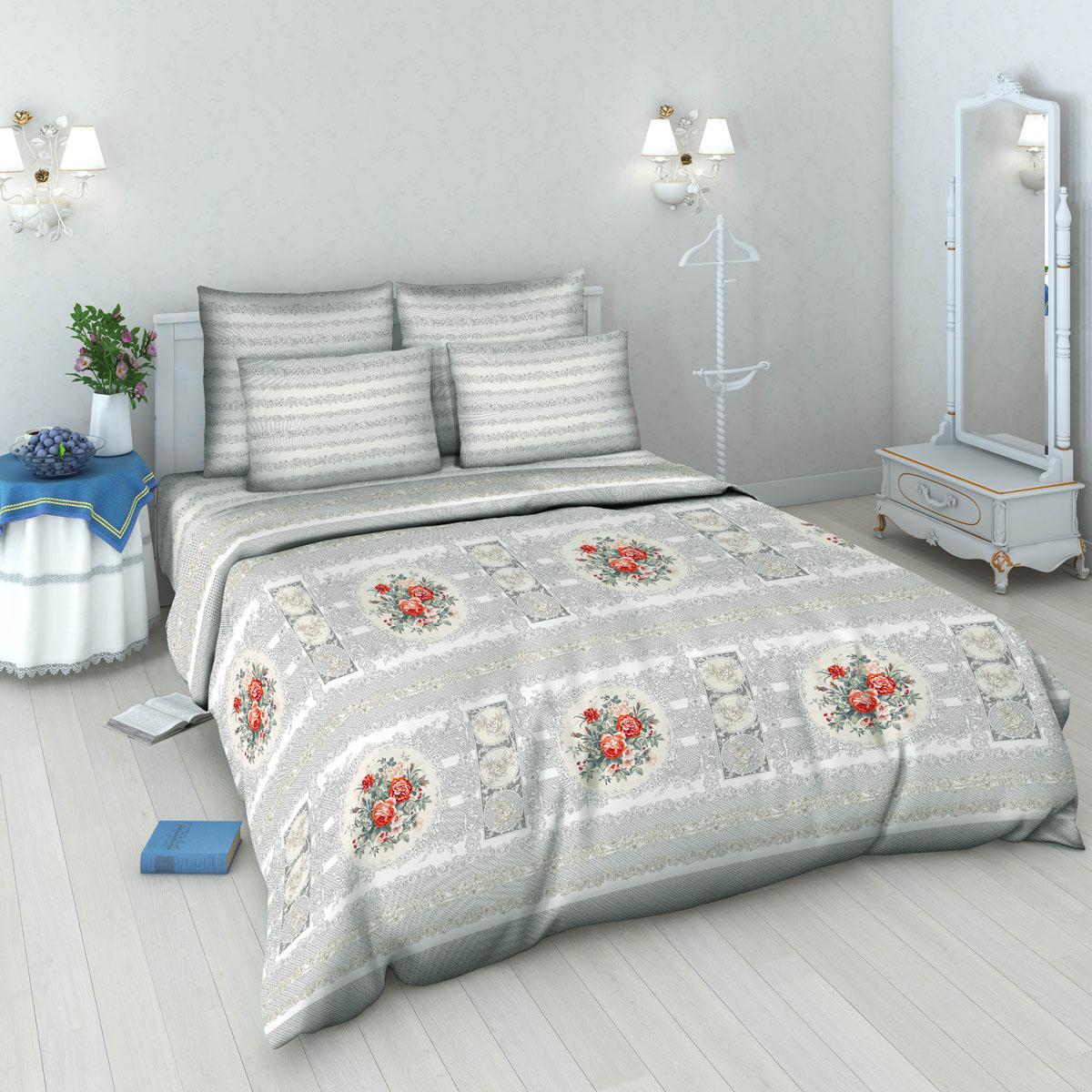 Комплект белья Василиса, 2-спальный, наволочки 70х70. 5378_1/25378_1/2Комплект постельного белья Василиса состоит из пододеяльника, простыни и двух наволочек. Белье производится из высококачественной бязи (100% хлопка). Использование особо тонкой пряжи делает ткань мягче на ощупь, обеспечивает легкое глажение и позволяет передать всю насыщенность цветовой гаммы. Благодаря более плотному переплетению нитей и использованию высококачественных импортных красителей постельное белье выдерживает до 70 стирок. Приобретая комплект постельного белья Василиса, вы можете быть уверены в том, что покупка доставит вам удовольствие и подарит максимальный комфорт.