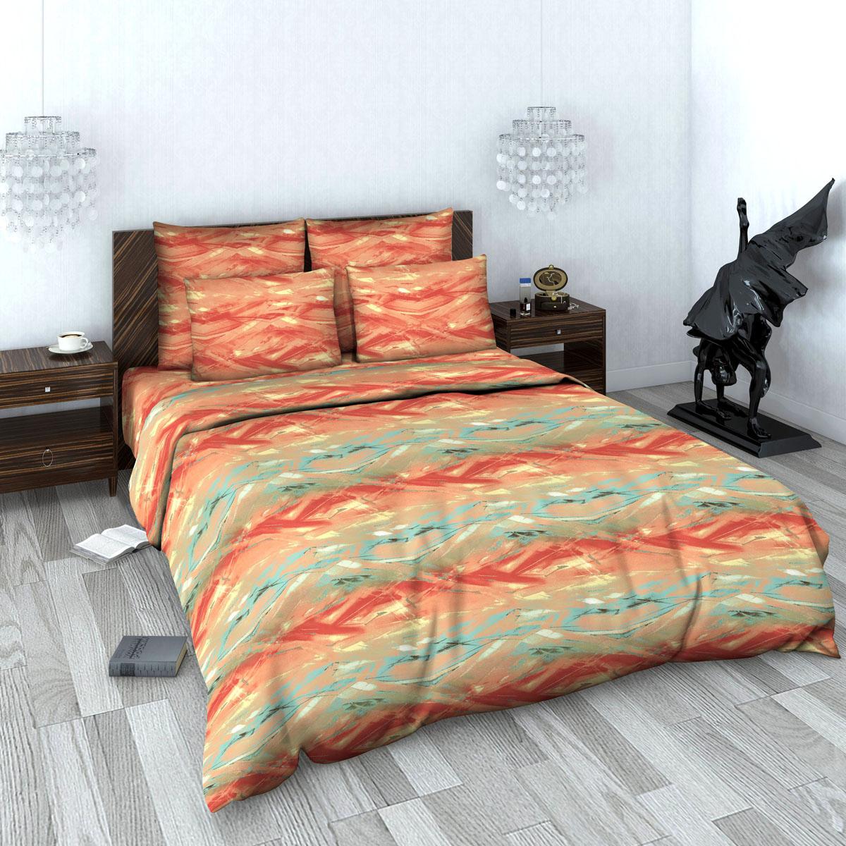 Комплект белья Василиса, 2-х спальное, наволочки 70х70. 616_1/2616_1/2Комплекты постельного белья Василиса коллекции Люкс (из сатина, 100% хлопок) - это российский продукт высочайшего качества ткани, с полноценной евро-простыней и дизайнерскими расцветками. Ткань очень приятна на ощупь, блестящая и плотная. Сатиновое постельное белье долговечно и выдерживает большое число стирок.