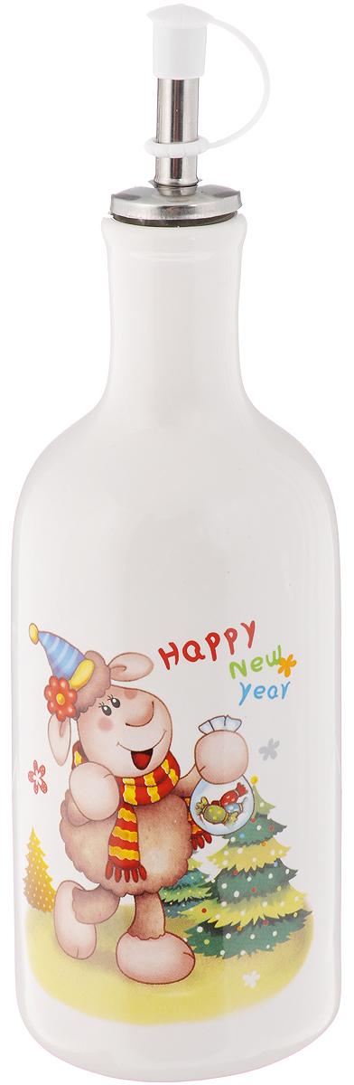 Бутылка для масла и уксуса Loraine Барашек, 290 мл24373Бутылка Loraine Барашек, выполненная из доломита, предназначена для хранения масла или уксуса. Оригинальный дизайн этой бутылки станет ярким пятном на вашей кухонной полке. Горлышко оснащено металлическим разбрызгивателем с силиконовым уплотнителем. Вы нальете ровно столько масла, сколько нужно, не уронив ни одной лишней капли, ведь крышка с носиком снабжена специальным клапаном. Стенки бутылки светонепроницаемые, поэтому ее можно хранить в открытом шкафу, не волнуясь, что ваше лучшее оливковое масло потеряет вкус и аромат. Можно использовать в микроволновой печи и мыть в посудомоечной машине. Высота бутылки (с учетом крышки): 21 см. Диаметр основания: 6,5 см. Диаметр бутылки (по верхнему краю): 3 см.