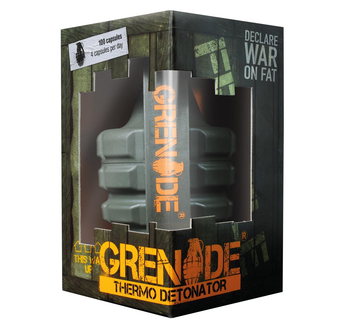 Жиросжигатель Grenade Термо Детонатор 100 капсул ( 847534 )