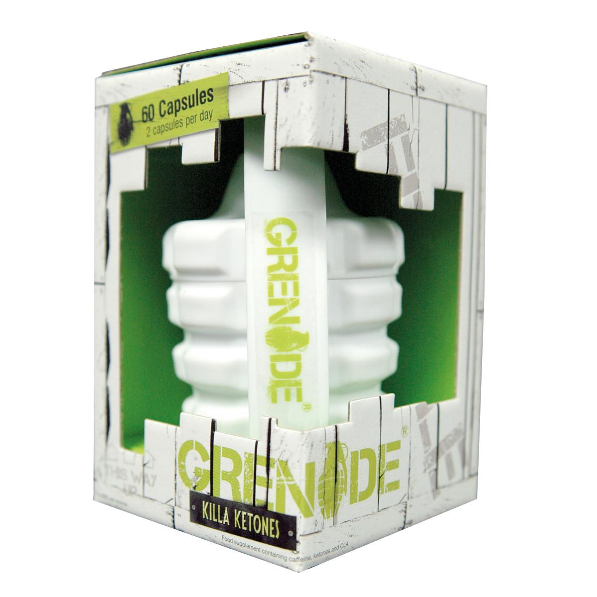 Жиросжигатель Grenade Killa Ketones 60 капсул ( G01070 )
