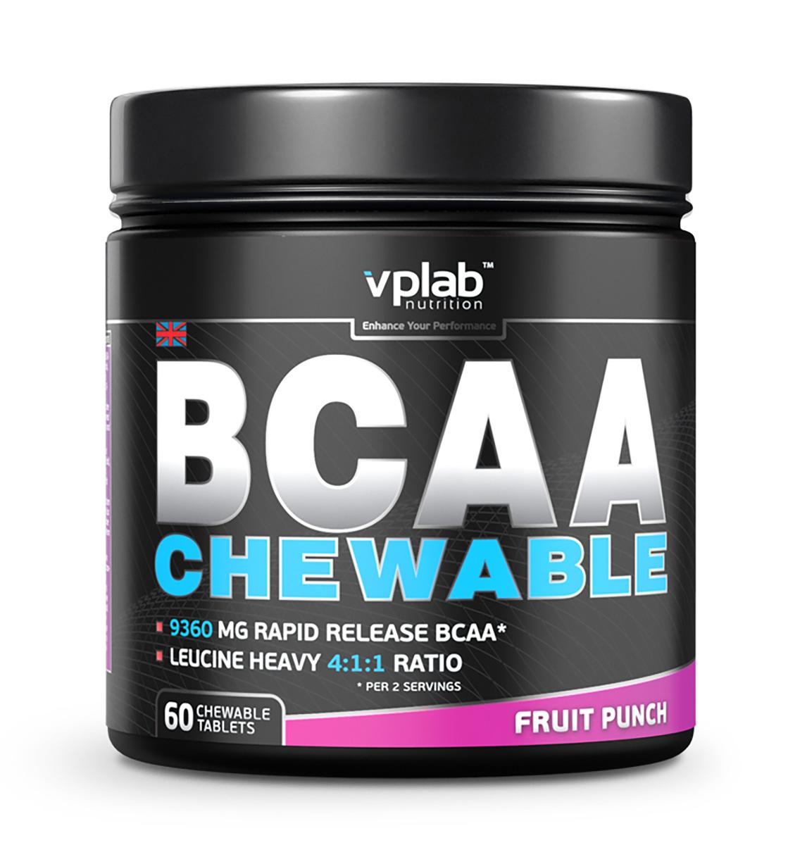BCAA VPLab BCAA chewable 60капс ( V62395 )