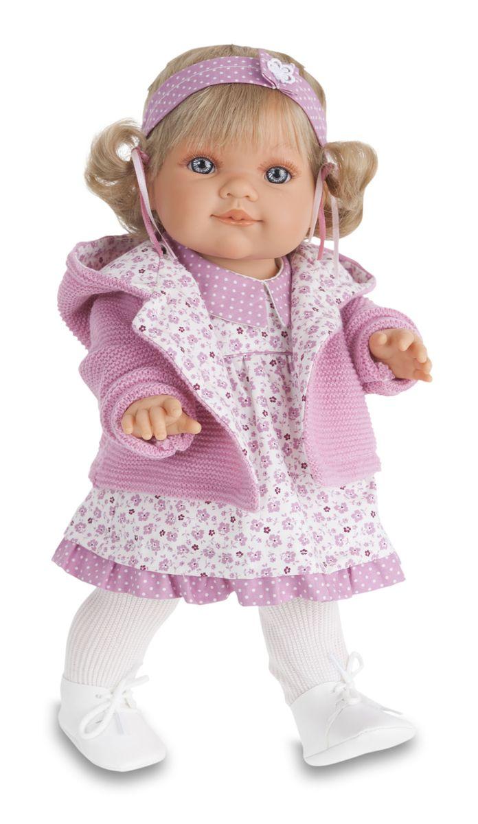 Juan Antonio Пупс Эвита в розовом2248PОбразы малышей разработаны известными европейскими дизайнерами. Ручки, ножки и голова подвижны. Полностью изготовлены из высококачественного винила. Производятся в Испании. Для детей от 3-х лет.