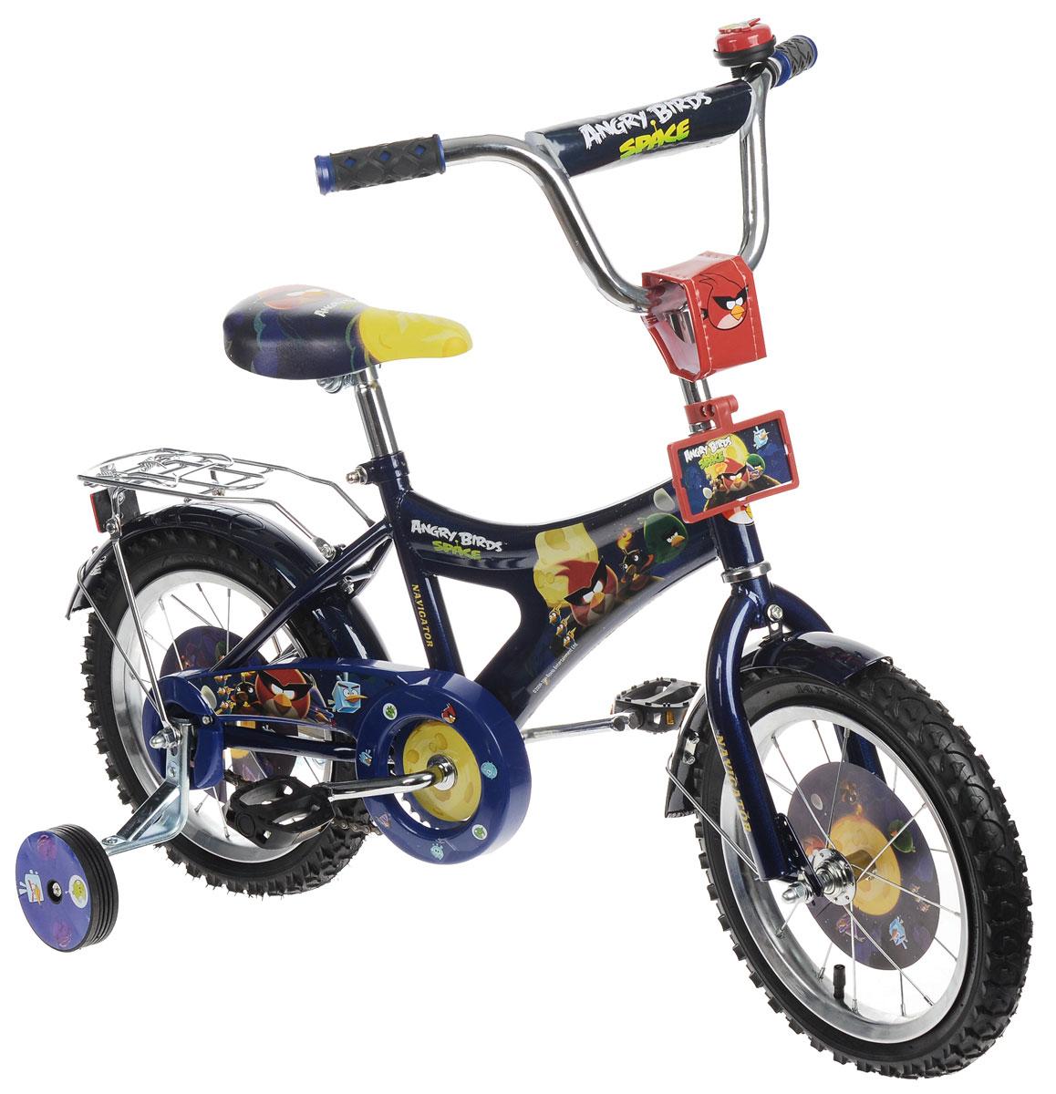 Navigator Trike Велосипед детский двухколесный Angry Birds ( ВН14128 )