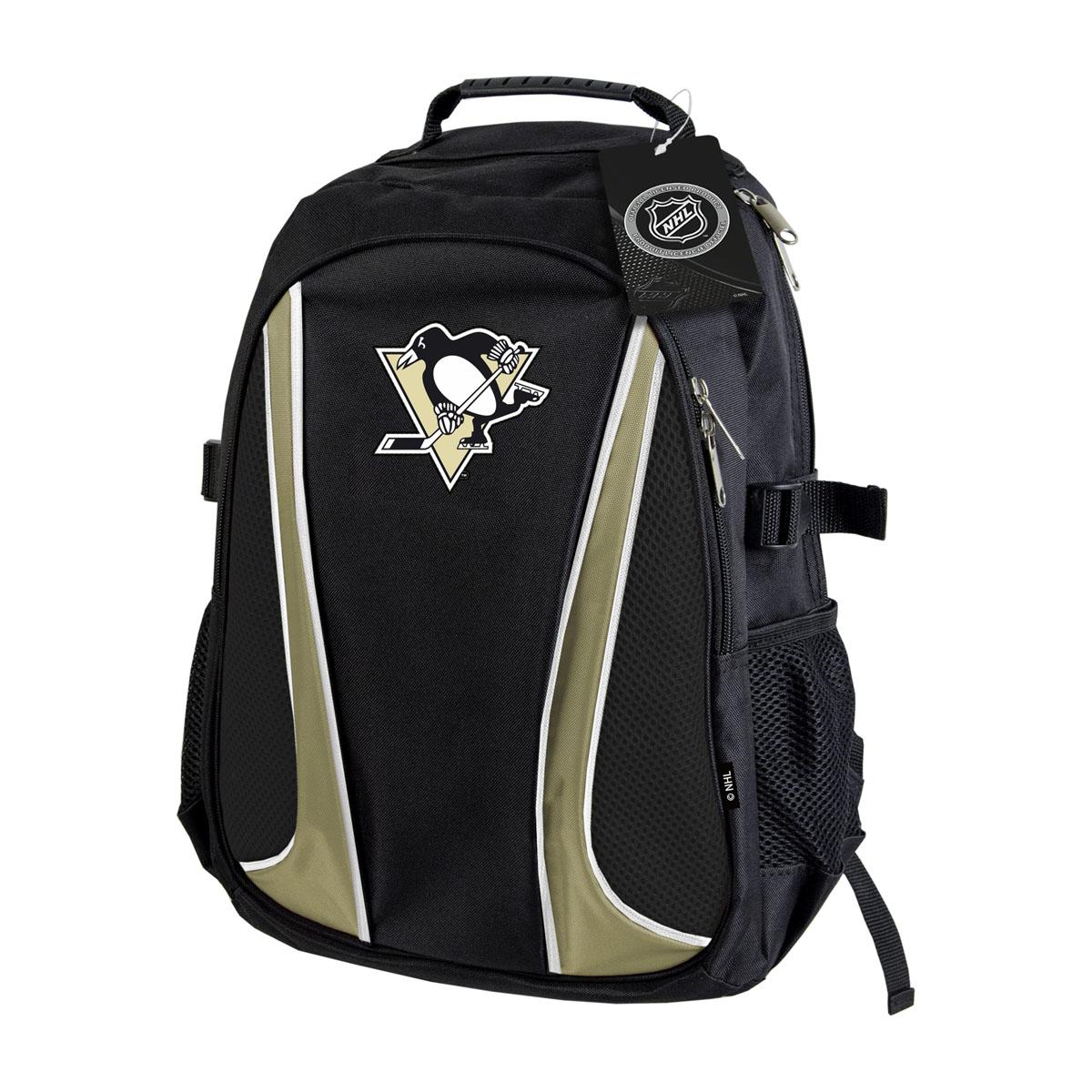 Рюкзак спортивный NHL Pittsburg Penguins, цвет: черный, 18 л. 58005 ( 58005 )