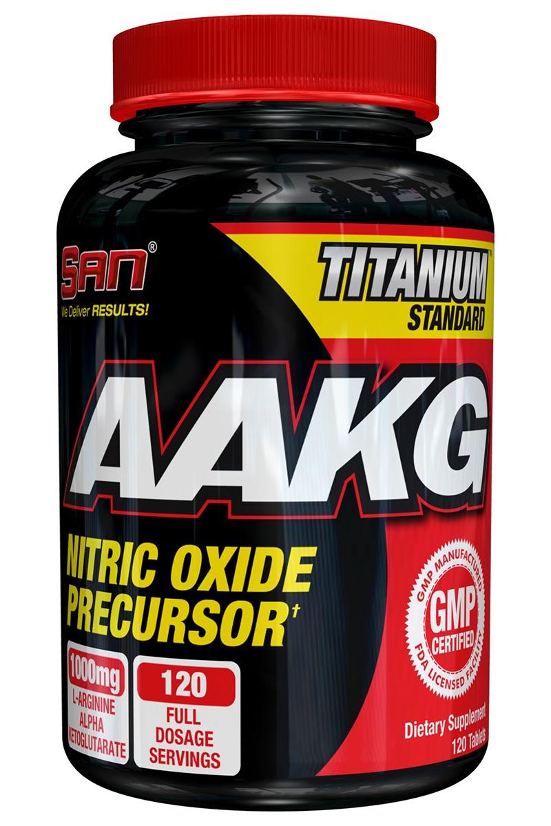 Аргинин SAN AAKG, 120 капсул00150Альфа-кетоглютарат аргинина (AAKG), содержащийся в SAN AAKG, - это исключительно хорошо усваиваемая форма L-аргинина, необходимого для производства оксида азота (NO), который обладает сосудорасширяющим действием, благодаря чему в мышечные клетки за короткое время поступает большое количество крови. Как результат, явственно ощущается «памп эффект» - лучшая доставка строительных и энергетических компонентов. Прием AAKG увеличивает производство эндогенного гормона роста и уменьшает время восстановления после тренировок. Товар не является лекарственным средством. Товар не рекомендован для лиц младше 18 лет. Могут быть противопоказания и следует предварительно проконсультироваться со специалистом.