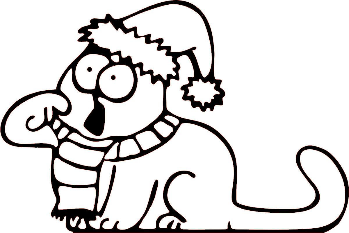 Наклейка автомобильная Оранжевый слоник Зимний кот, виниловая, цвет: черный150NG0004BОригинальная наклейка Оранжевый слоник Зимний кот изготовлена из высококачественной виниловой пленки, которая выполняет не только декоративную функцию, но и защищает кузов автомобиля от небольших механических повреждений, либо скрывает уже существующие. Виниловые наклейки на автомобиль - это не только красиво, но еще и быстро! Всего за несколько минут вы можете полностью преобразить свой автомобиль, сделать его ярким, необычным, особенным и неповторимым!