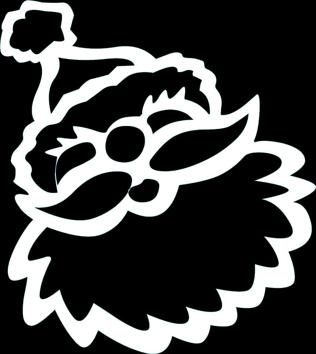 Наклейка автомобильная Оранжевый слоник Лицо Деда Мороза, виниловая, цвет: белый150NG0006WОригинальная наклейка Оранжевый слоник Лицо Деда Мороза изготовлена из высококачественной виниловой пленки, которая выполняет не только декоративную функцию, но и защищает кузов автомобиля от небольших механических повреждений, либо скрывает уже существующие. Виниловые наклейки на автомобиль - это не только красиво, но еще и быстро! Всего за несколько минут вы можете полностью преобразить свой автомобиль, сделать его ярким, необычным, особенным и неповторимым!