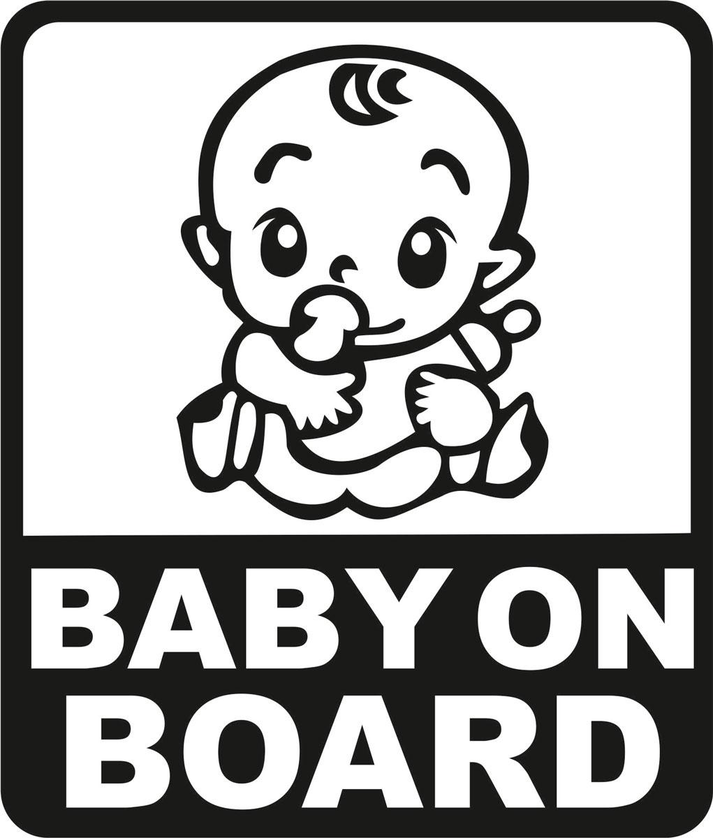 Наклейка автомобильная Оранжевый слоник Baby on Board. Квадрат 2, виниловая, цвет: черный150RM0006BОригинальная наклейка Оранжевый слоник Baby on Board. Квадрат 2 изготовлена из долговечного винила, который выполняет не только декоративную функцию, но и защищает кузов от небольших механических повреждений, либо скрывает уже существующие. Виниловые наклейки на авто - это не только красиво, но еще и быстро! Всего за несколько минут вы можете полностью преобразить свой автомобиль, сделать его ярким, необычным, особенным и неповторимым!