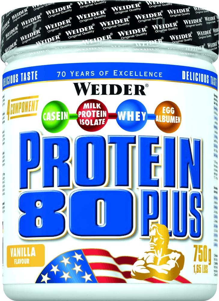 Протеин Weider Protein 80+ 750г ваниль