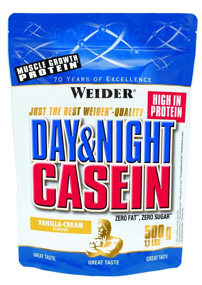Протеин Weider Day & Night Casein 0,5 кг ваниль-крем