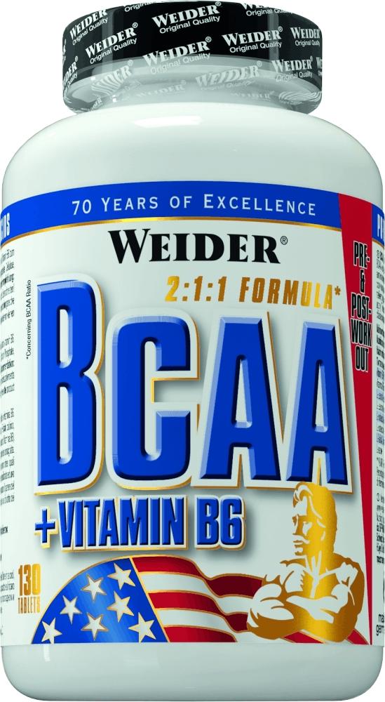 BCAA Weider BCAA 130 tabs ( 31611 )