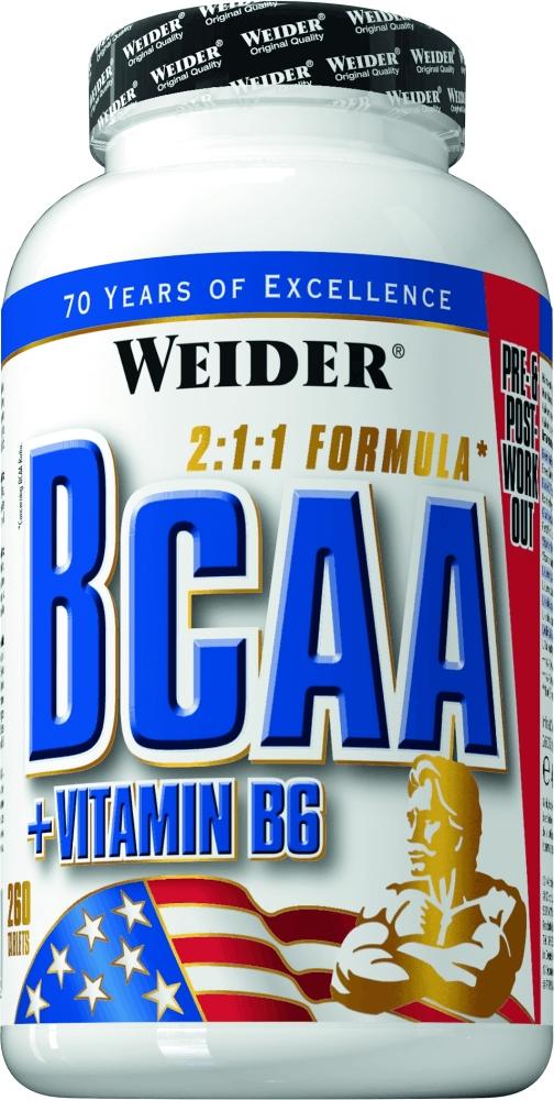 BCAA Weider BCAA 260 tabs ( 31612 )