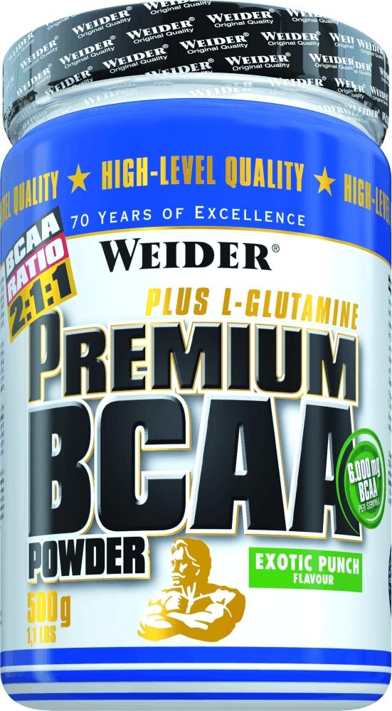 BCAA Weider Premium BCAA Powder 500г экзотический пунш ( 31702 )