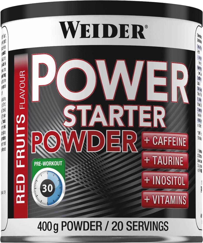 Предтренировочный комплекс Weider Power Starter Powder 400г красные фрукты ( 38261 )