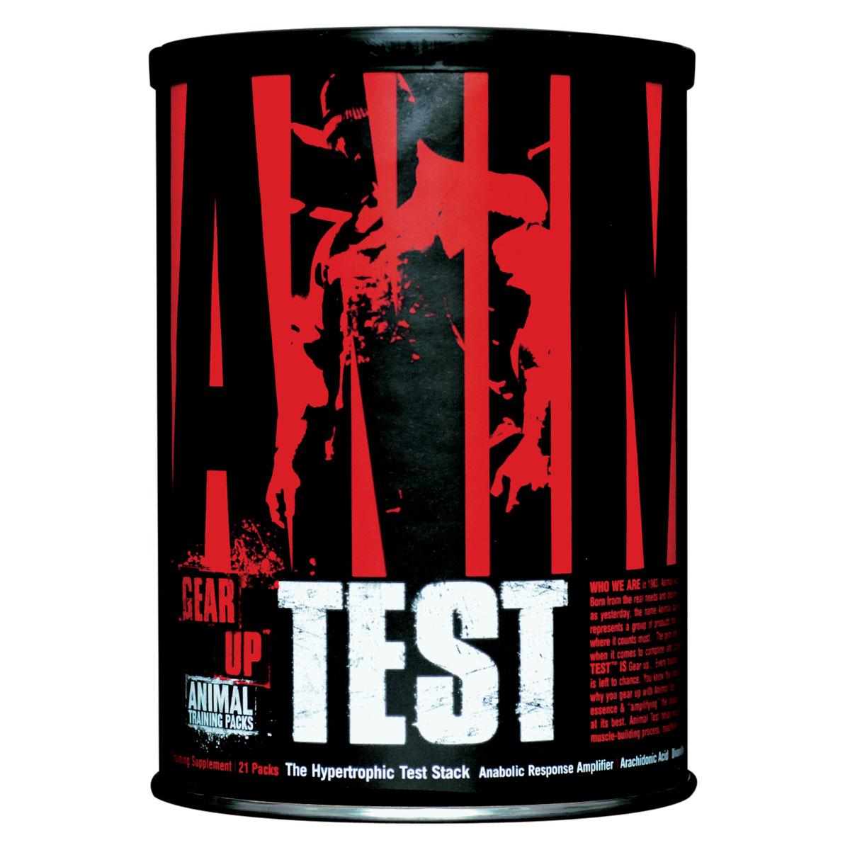 Средства для повышения тестостерона Animal Test 21 пак ( U3032 )