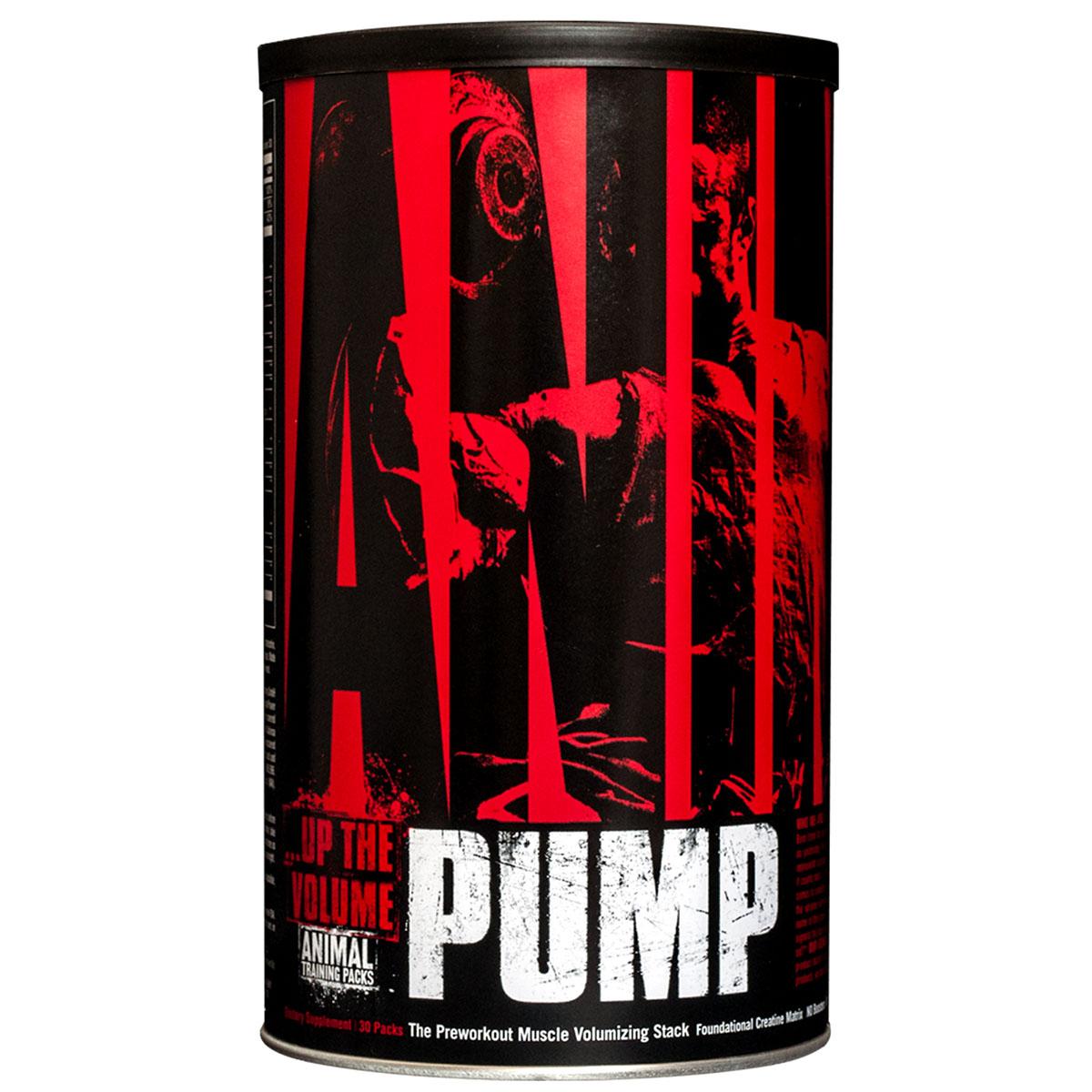Предтренировочный комплекс Animal Pump 30 пак