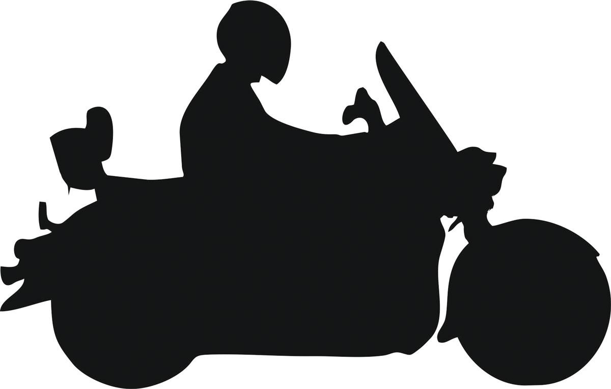 Наклейка автомобильная Оранжевый слоник Мотоциклист 9, виниловая, цвет: черный150MT0009BОригинальная наклейка Оранжевый слоник Мотоциклист 9 изготовлена из высококачественной виниловой пленки, которая выполняет не только декоративную функцию, но и защищает кузов автомобиля от небольших механических повреждений, либо скрывает уже существующие. Виниловые наклейки на автомобиль - это не только красиво, но еще и быстро! Всего за несколько минут вы можете полностью преобразить свой автомобиль, сделать его ярким, необычным, особенным и неповторимым!