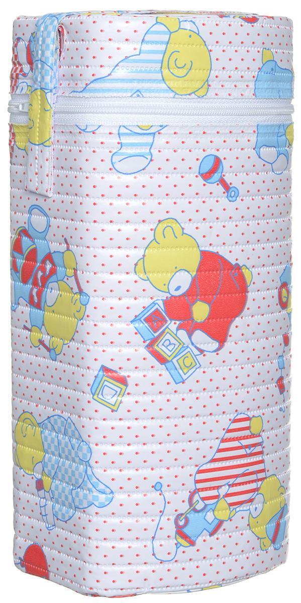 Canpol Babies Термоконтейнер для фигурной бутылочки Мишки