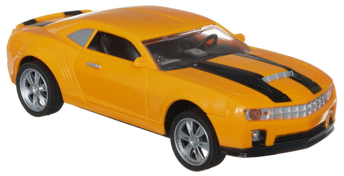 Plastic Toy Машина на радиоуправлении Champion цвет желтыйA033-H08307_желтыйМашина на радиоуправлении Plastic Toy Champion выглядит совсем как настоящая. Юные автогонщики оценят эту машину за прекрасные технические характеристики и полную свободу передвижений в любую сторону. Моделью легко управлять и любая гонка принесет удовольствие. Управление машинкой происходит с помощью удобного пульта. Автомобиль двигается вперед и назад, поворачивает направо и налево. Автомобиль изготовлен из пластика с металлическими элементами. Колеса игрушки прорезинены и обеспечивают плавный ход, машинка не портит напольное покрытие. Пульт управления работает на частоте 27 MHz. Радиоуправляемые игрушки способствуют развитию координации движений, моторики и ловкости. Ваш ребенок часами будет играть с моделью, придумывая различные истории и устраивая соревнования. Машина работает от 3 батареек типа АА (входят в комплект). Для работы пульта управления необходимы 2 батарейки типа AA (не входит в комплект).