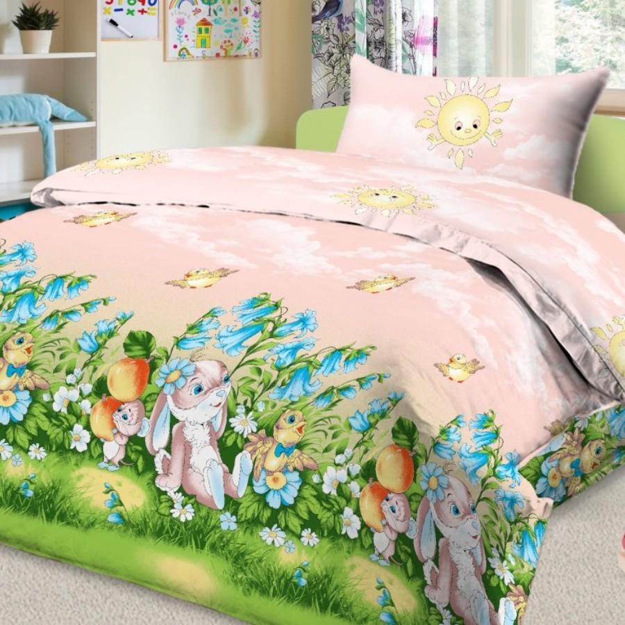 Letto Комплект белья для новорожденных Ясли цвет розовыйBG-22Яркий комплект постельного белья в кроватку в хлопковом исполнении и с хорошими устойчивыми красителями - по очень доступной цене! Эта модель произведена из традиционной российский бязи, плотного плетения. Такое белье прослужит долго и выдержит много стирок. Рекомендуется перед первым использованием постирать, но не пересушивать. Применение кондиционера при стирке сделает такое постельное белье мягче и комфортней. Размер: пододеяльник 145х110 см., простынь 150х100 см., наволочка 40х60 см. Рисунок на наволочке может отличаться от представленного на фото.
