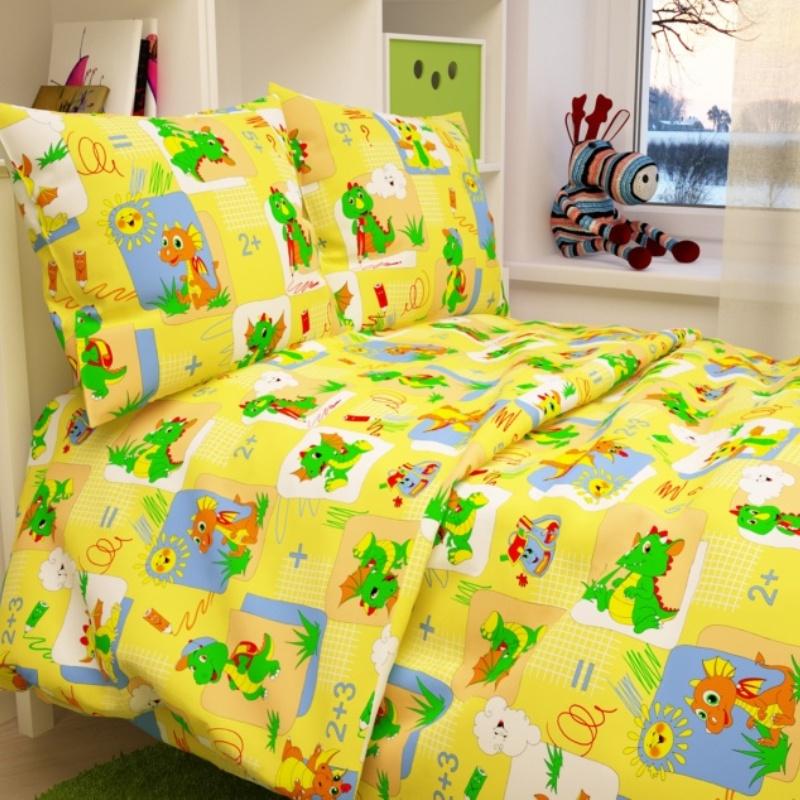 Letto Комплект белья для новорожденных Ясли цвет желтый
