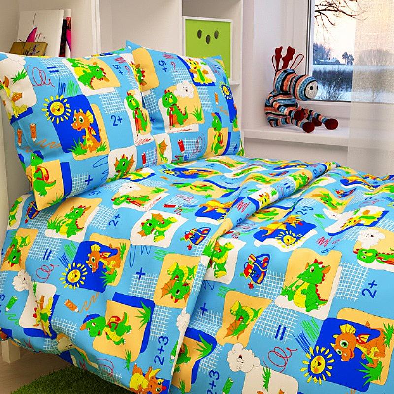 Letto Комплект белья для новорожденных Ясли цвет голубой BG-19