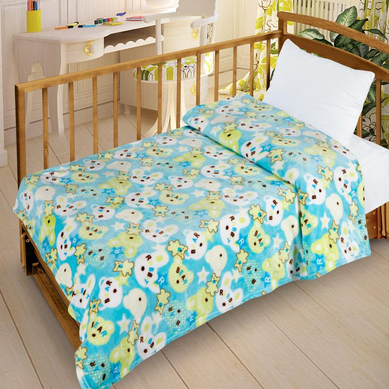 Letto Плед детский Велсофт-бэби цвет голубойVB10Нежнейший плед в детскую кроватку выполнен из современного материала Велсофт - ткань напоминает на ощупь плюшевую игрушку. Материал гипоаллергенен, плед легкий и в то же время теплый. Приятна расцветка пледа создаст в детской комнате уют и приятную атмосферу.