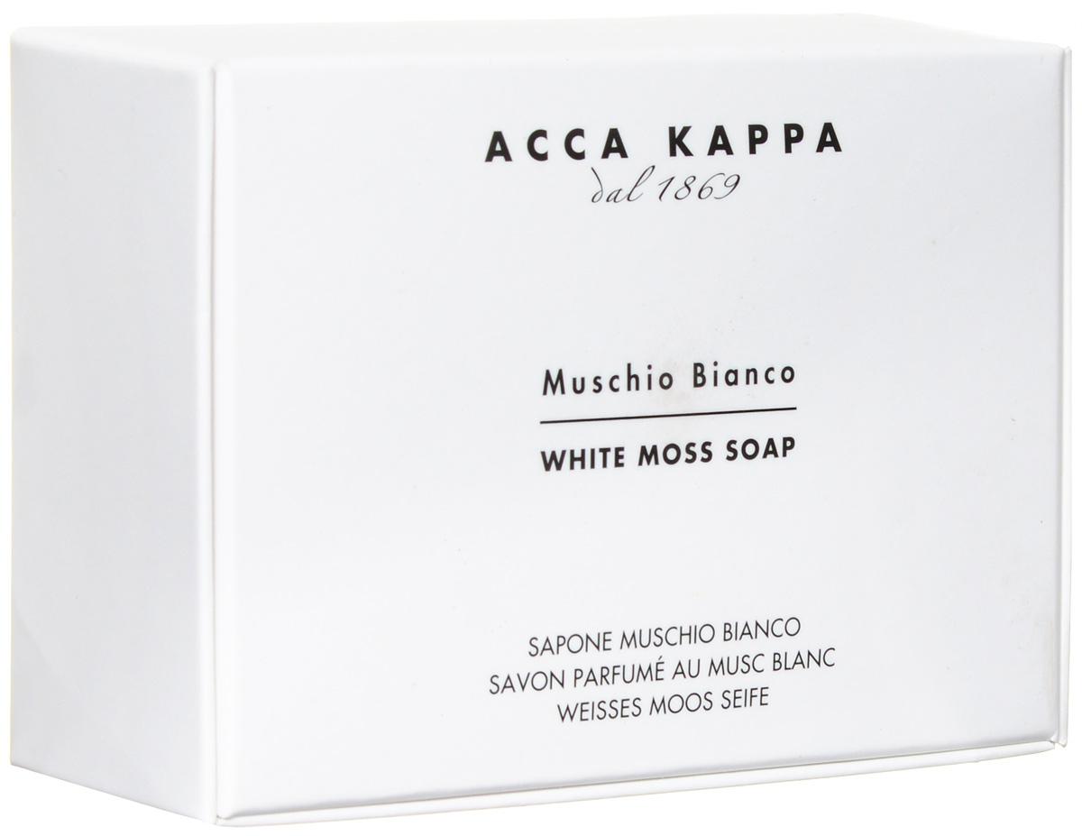 Растительное мыло Acca Kappa Белый Мускус, 150 г853320Растительное мыло Белый Мускус деликатно очищает кожу. Идеально подходит для всех типов кожи. Растительные компоненты получены из кокосового масла и сахарного тростника, прекрасно очищают и увлажняют кожу. Экстракты мелиссы лимонной, омелы, ромашки, тысячелистника и хмеля известны своими противовоспалительными свойствами и превосходно дополняют формулу. Так же мыло обогащено аллантоином растительного происхождения, которое обладает заживляющими свойствами и способствует регенерации клеток.