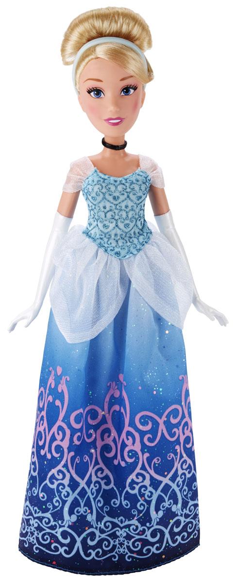 Disney Princess Кукла Принцесса Золушка B5288B5288ES2_SolidКукла Disney Princess Принцесса Золушка поможет вашей малышке окунуться в сказочный мир. Куколка одета в сверкающее голубое платье. На руках принцессы - белые перчатки. Убранные в вечернюю прическу светлые волосы украшает диадема. Ручки, ножки и голова куколки подвижны. Ваша малышка с удовольствием будет играть с этой куколкой, проигрывая сюжеты из мультфильма или придумывая различные истории. Игры с куклой способствуют эмоциональному развитию ребенка, а также помогают формировать воображение и художественный вкус. Малышка проведет множество счастливых часов, играя с очаровательной принцессой. Великолепное качество исполнения делают эту игрушку чудесным подарком к любому празднику.