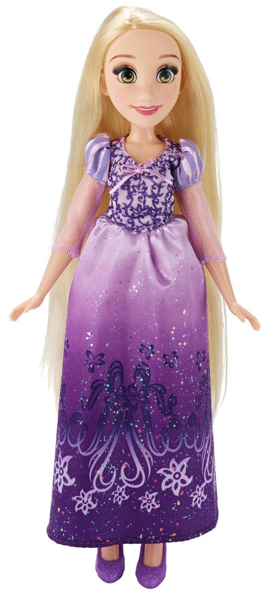 Disney Princess Кукла Принцесса Рапунцель B5286B5286ES2_SolidКукла Disney Princess Принцесса Рапунцель обязательно понравится маленьким любительницам диснеевских принцесс. Очаровательная куколка выполнена в виде принцессы Рапунцель. У куклы, как и у героини мультфильма, роскошные длинные волосы, которые ваша дочурка сможет расчесывать и заплетать в разнообразные прически. Одета куколка в классический наряд из мультфильма: длинное, украшенное блестками платье с объемными рукавами-фонариками, на ногах у нее фиолетовые туфельки. Голова, ручки и ножки куклы подвижны. Ваша малышка с удовольствием будет играть с этой куколкой, проигрывая сюжеты из мультфильма или придумывая различные истории. Игры с куклой способствуют эмоциональному развитию ребенка, а также помогают формировать воображение и художественный вкус. Малышка проведет множество счастливых часов, играя с очаровательной принцессой. Великолепное качество исполнения делают эту игрушку чудесным подарком к любому празднику.