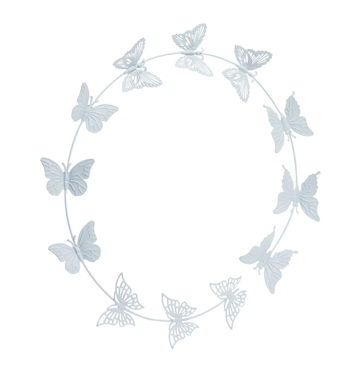 Украшение декоративное Gardman Butterflies, настенное, цвет: серый17521Декоративное настенное украшение Gardman Butterflies изготовлено из металла. Оно отлично подойдет для дома и придаст неповторимый дизайн вашему интерьеру.