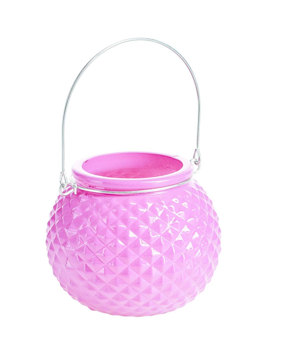 Подсвечник подвесной Gardman Honey Pot. Diamond, цвет: розовый, 8,5 см17444Декоративный подсвечник Gardman Honey Pot. Diamond, изготовленный из высококачественного стекла, позволит украсить интерьер дома или рабочего кабинета оригинальным образом. Вы можете поставить или подвесить подсвечник в любом месте, где он будет удачно смотреться и радовать глаз. Кроме того - это отличный вариант подарка для ваших близких и друзей.