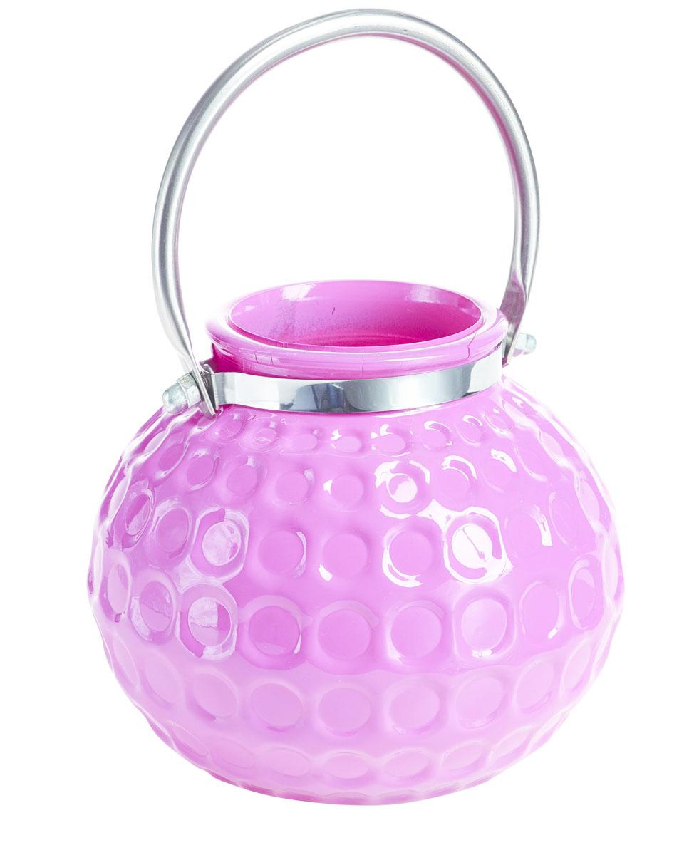 Подсвечник подвесной Gardman Honey Pot. Medium, цвет: розовый, 13 см17446Декоративный подсвечник Gardman Honey Pot. Medium, изготовленный из высококачественного стекла, позволит украсить интерьер дома или рабочего кабинета оригинальным образом. Вы можете поставить или подвесить подсвечник в любом месте, где он будет удачно смотреться и радовать глаз. Кроме того - это отличный вариант подарка для ваших близких и друзей.