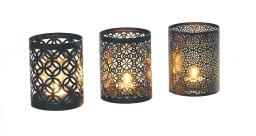 Набор из трех подсвечников Gardman Arabian17614