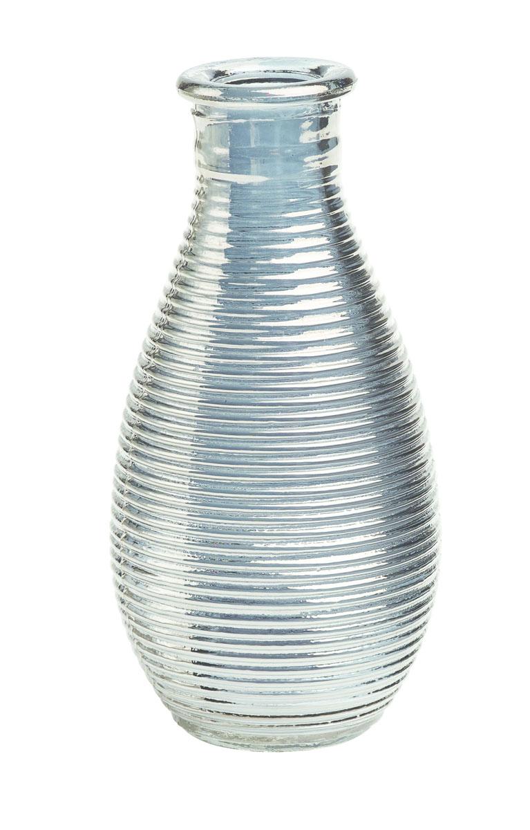 Ваза Gardman Mini, цвет: серебристый, высота 14 см17912Изящная ваза Gardman Mini, изготовленная из стекла, имеет оригинальную форму. Она идеально дополнит интерьер офиса или дома и станет желанным и стильным подарком. Высота вазы: 14 см.