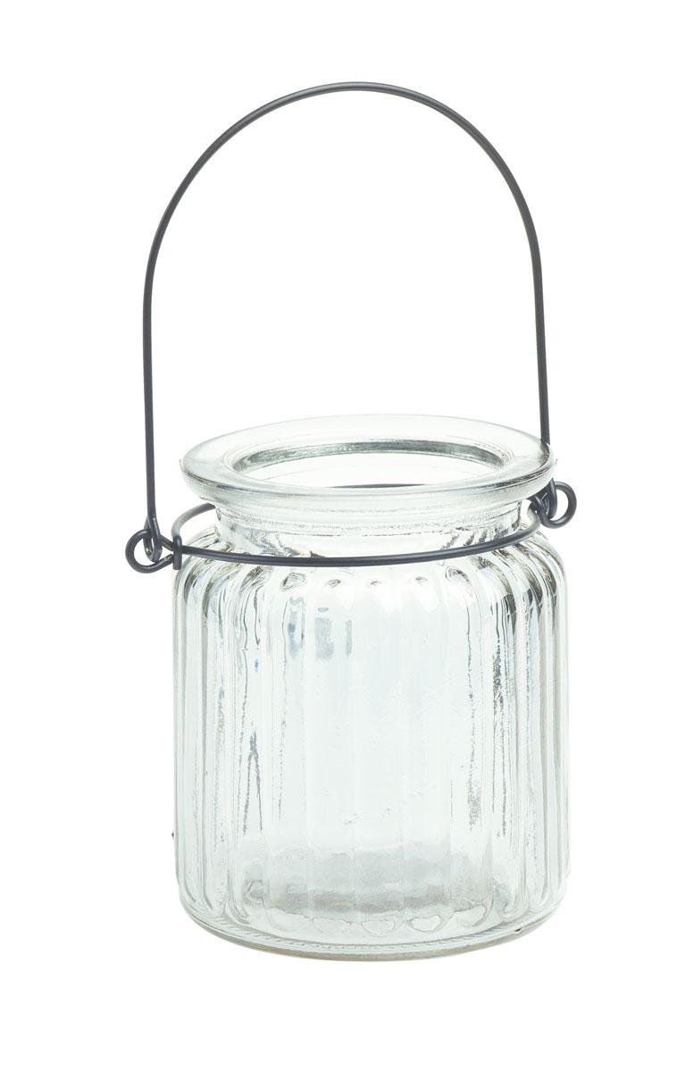 Подсвечник подвесной Gardman Jam Jar, цвет: прозрачный, 9 см17913Декоративный подсвечник Gardman Jam Jar изготовлен из высококачественного стекла. Он позволит украсить интерьер дома или рабочего кабинета оригинальным образом. Вы можете поставить или подвесить подсвечник в любом месте, где он будет удачно смотреться и радовать глаз. Кроме того - это отличный вариант подарка для ваших близких и друзей.