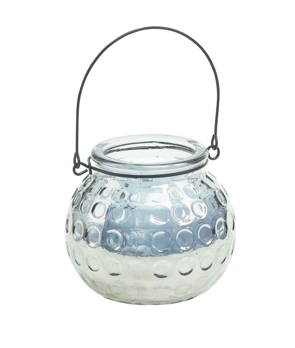 Подсвечник Gardman Honey Pot, цвет: серебристый, 8,5 см17915