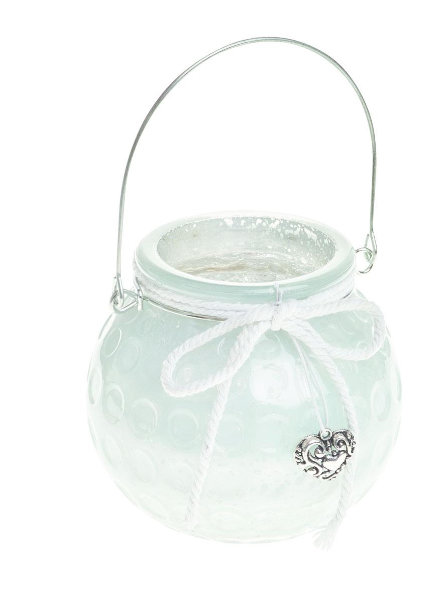 Подсвечник подвесной Gardman Honey Pot, цвет: белый, 8,5 см17835Декоративный подсвечник Gardman Honey Pot изготовлен из высококачественного стекла с металлической фольгой внутри. Он позволит украсить интерьер дома или рабочего кабинета оригинальным образом. Вы можете поставить или подвесить подсвечник в любом месте, где он будет удачно смотреться и радовать глаз. Кроме того - это отличный вариант подарка для ваших близких и друзей.